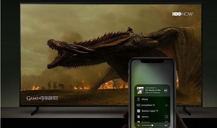 Samsung anuncia linha de TVs QLED 4K e 8K para 2019 com iTunes e AirPlay 2