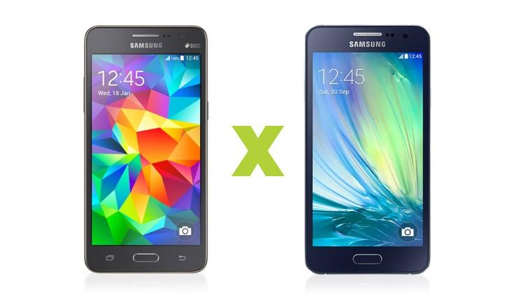 Samsung Galaxy A3 ou Galaxy Gran Prime Duos? Escolha o melhor