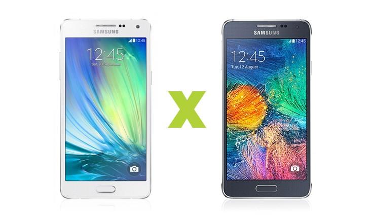 Samsung Galaxy A5 vs Galaxy Alpha: tem diferenças?