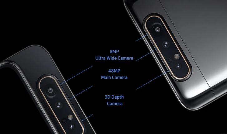 Samsung Galaxy A80 é lançado no Brasil por R$3.499