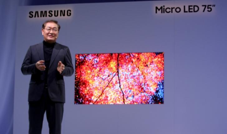 Samsung lança TV Micro LED residencial na CES 2019
