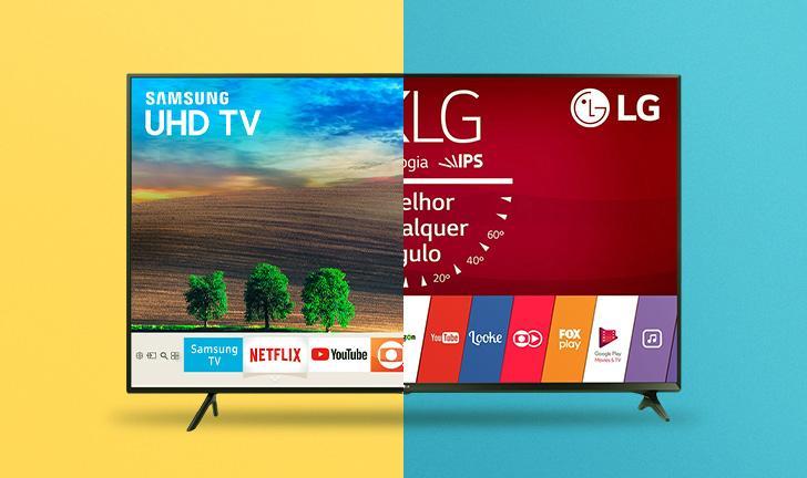Samsung NU7100 vs LG UJ6300: veja qual Smart TV leva a melhor