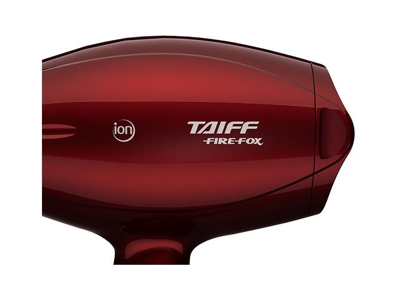 Secador de Cabelo Profissional com Ar Frio Emissão de Íons 2100 Watts -  Taiff Diamante Fire Fox 52f23bf0300c