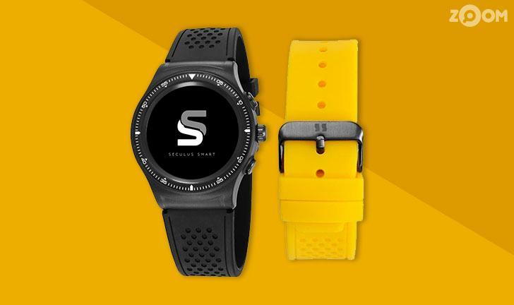 Seculus lança Smartwatch nacional com alerta de sedentarismo
