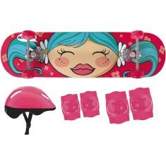 Skate Infantil - Mor Menina