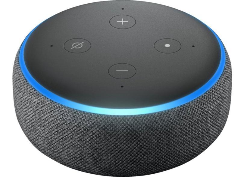 Smart Speaker Amazon Echo Dot 3ª Geração Alexa