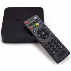 Smart TV Box MXQ Ott Box 4GB Full HD Android TV HDMI USB