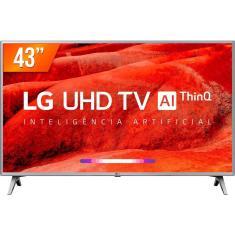 """Smart TV LED 43"""" LG ThinQ AI 4K HDR 43UM751C"""