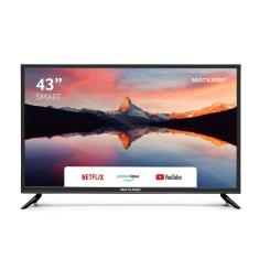"Smart TV LED 43"" Multilaser Full HD TL012 3 HDMI"