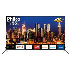 "Smart TV LED 55"" Philco 4K PTV55Q50SNS 3 HDMI"