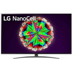 """Smart TV Nano Cristal 49"""" LG ThinQ AI 4K HDR 49NANO81SNA"""