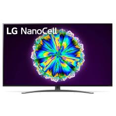 """Smart TV Nano Cristal 55"""" LG ThinQ AI 4K HDR 55NANO86SNA"""