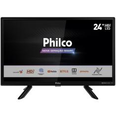 "Foto Smart TV TV LED 24"" Philco Netflix PTV24G50SN 2 HDMI"