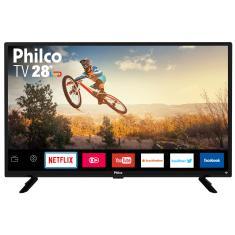 """Smart TV LED 28"""" Philco PTV28G50SN 2 HDMI LAN (Rede)"""