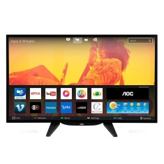 "Foto Smart TV LED 32"" AOC LE32S5760 3 HDMI LAN (Rede)"