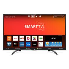 "Foto Smart TV LED 32"" AOC LE32S5970S 3 HDMI LAN (Rede)"