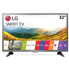 "Smart TV LED 32"" LG 32LJ600B 2 HDMI USB"