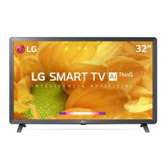 "Smart TV TV LED 32"" LG ThinQ AI HDR 32LM625BPSB 3 HDMI"