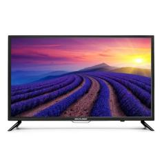 "Foto Smart TV LED 32"" Multilaser TL002 2 HDMI USB"