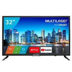 """Smart TV LED 32"""" Multilaser TL006 2 HDMI USB"""