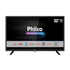 "Smart TV TV LED 32"" Philco Netflix PTV32G52S 1 HDMI"