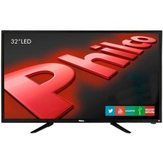 "Foto Smart TV LED 32"" Philco PH32B51DSGW 2 HDMI USB"