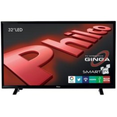 "Foto Smart TV LED 32"" Philco PH32E31DSGW 2 HDMI LAN (Rede)"