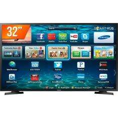 "Foto Smart TV LED 32"" Samsung LH32BENELGA/ZD 2 HDMI LAN (Rede)"