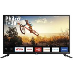 "Smart TV TV LED 39"" Philco Netflix PTV39E60SN 2 HDMI"