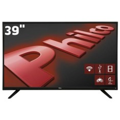 "Smart TV LED 39"" Philco PH39E60DSGWA 2 HDMI LAN (Rede)"
