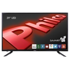 "Smart TV LED 39"" Philco PH39U21DSGW 3 HDMI LAN (Rede)"