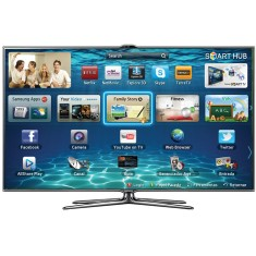 "Foto Smart TV LED 3D 46"" Samsung Série 7 Full HD UN46ES7000"