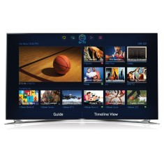 "Foto Smart TV LED 3D 46"" Samsung Série 8 Full HD UN46F8000"