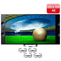 "Foto Smart TV LED 3D 65"" Sony Bravia 4K XBR-65X905A"