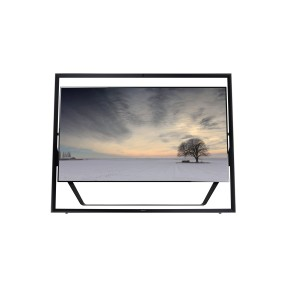 "Foto Smart TV LED 3D 85"" Samsung Série S9 4K UN85S9AG"