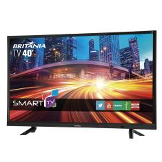 "Smart TV TV LED 40"" Britânia Full HD BTV40E21S 2 HDMI"