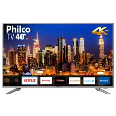 "Smart TV LED 40"" Philco 4K HDR PTV40G50SNS 3 HDMI"