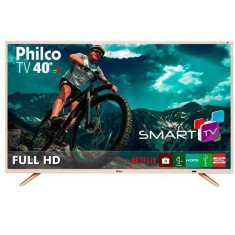"Foto Smart TV LED 40"" Philco Full HD PTV40E21DSWNC 2 HDMI"