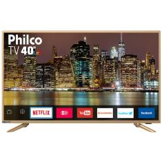 "Smart TV LED 40"" Philco Full HD PTV40E60SNC 3 HDMI"