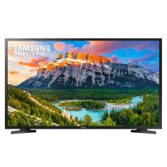 "Foto Smart TV LED 40"" Samsung Full HD UN40J5290 2 HDMI"