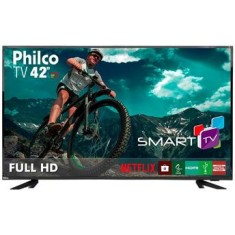 "Foto Smart TV LED 42"" Philco Full HD PTV42E60DSWN 3 HDMI"