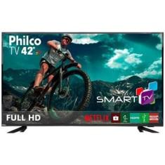 """Smart TV TV LED 42"""" Philco Full HD PTV42E60DSWN 3 HDMI"""