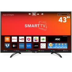 "Smart TV LED 43"" AOC Full HD LE43S5970S 3 HDMI"