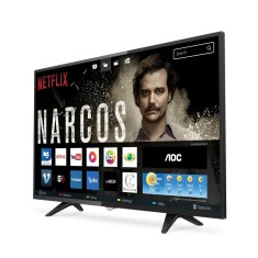 "Foto Smart TV LED 43"" AOC Full HD LE43S5977 3 HDMI LAN (Rede)"