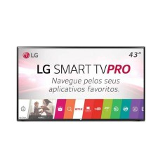 "Foto Smart TV LED 43"" LG Full HD 43LJ551C 2 HDMI"