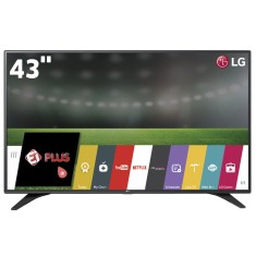 "Smart TV LED 43"" LG Full HD 43LH6000 3 HDMI"