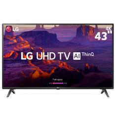 """Smart TV LED 43"""" LG ThinQ AI 4K 43UK6310PSE 3 HDMI"""