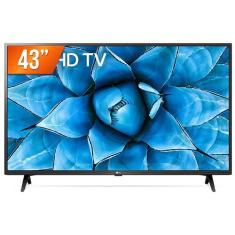 "Smart TV TV LED 43"" LG ThinQ AI 4K HDR 43UN731C 3 HDMI"