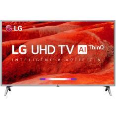 "Smart TV TV LED 43"" LG ThinQ AI 4K HDR Netflix 43UM7510PSB 4 HDMI"