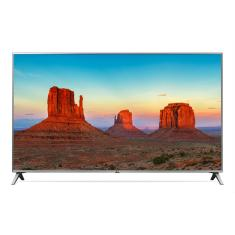 "Foto Smart TV LED 43"" LG ThinQ AI 4K 43UK6520PSA 4 HDMI"